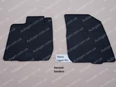 Коврики салона Renault Sandero 1 (2007-2013) (передние 2шт) (Politera)