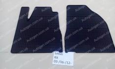 Коврики салона Lexus RX 3 (2009-2015) (передние 2шт) (Politera)