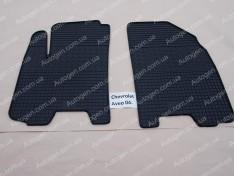 Коврики салона Chevrolet Aveo T255 (2006-2011) (передние 2шт) (Politera)