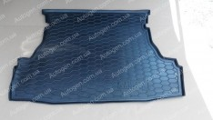 Коврик в багажник Chery Arrizo 3 (2015->) (Avto-Gumm полимер-пластик)