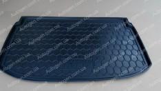 Коврик в багажник Chevrolet Aveo T300 HB (2011->) (хечбек) (Avto-Gumm полимер-пластик)