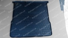 Коврик в багажник Chevrolet Aveo T300 SD (2011->) (седан) (Avto-Gumm полимер-пластик)
