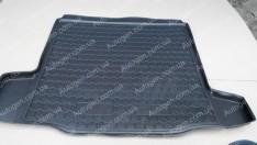 Коврик в багажник Chevrolet Cruze 2 SD (2008->) (Avto-Gumm полимер-пластик)