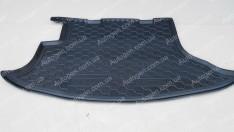 Коврик в багажник Chevrolet Niva (2002->) (Avto-Gumm полимер-пластик)