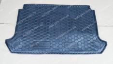 Коврик в багажник Fiat Doblo 1 (2000-2010) (короткая база) (с сеткой) (Avto-Gumm полимер-пластик)