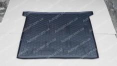 Коврик в багажник Fiat Doblo 2 (2010->) (5 мест) (короткая база) (Avto-Gumm полимер-пластик)