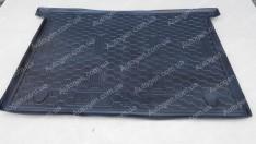 Коврик в багажник Fiat Doblo 2 (2010->) (7 мест) (короткая база) (Avto-Gumm полимер-пластик)