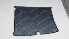 Коврик в багажник Fiat Fiorino (2008->) (Avto-Gumm полимер-пластик)
