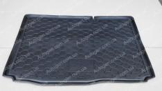 Коврик в багажник Ford B-MAX (2012->) (нижняя полка) (Avto-Gumm полимер-пластик)