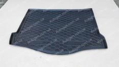 Коврик в багажник Ford Focus 3 HB (с докаткой) (2011->) (Avto-Gumm полимер-пластик)