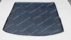 Коврик в багажник Ford Focus 3 (2011->) WAG (универсал) с докаткой (Avto-Gumm полимер-пластик)