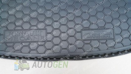 Avto-gumm Коврик в багажник Renault Megane 3 Grandtour (универсал) (2008-2015) (Avto-Gumm полимер-пластик)