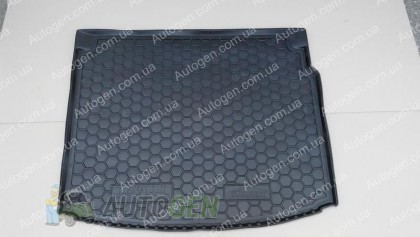 Avto-gumm Коврик в багажник Renault Megane 3 Grandtour (универсал) (Тип 1 - без ушей) (2008-2015) (Avto-Gumm полимер-пластик)