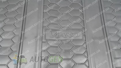 Avto-gumm Коврики салона Mercedes Vito W639 (Viano) (2003-2015) (второй+третий ряд) (2шт) (Avto-Gumm)