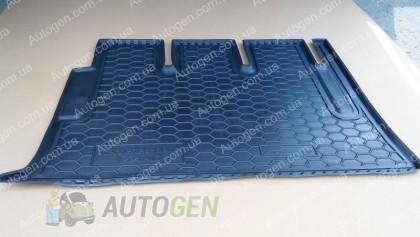Коврик в багажник Mercedes Vito W639 (Viano) (2003-2015) (Avto-Gumm Полиуретан)