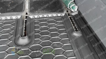 Avto-gumm Коврик в багажник Mercedes Vito W639 (Viano) (2003-2015) (Avto-Gumm Полиуретан)