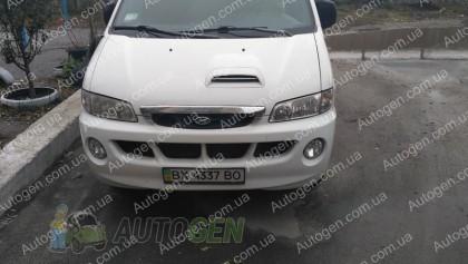 Vip 52 Мухобойка Hyundai H1 (1997-2004) (хром молдинг) VIP