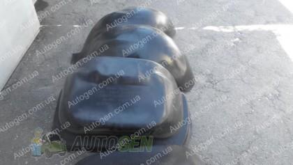 Подкрылки Mercedes Sprinter 2 (2006->) (двухкатковый) (задние 2шт) (Mega-Locker)