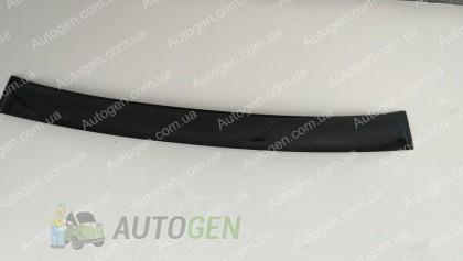 Козырек заднего стекла (бленда) Volkswagen Polo SD (2009->) скотч (ANV)