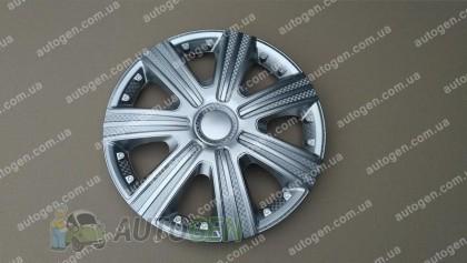 Колпаки на колеса DTM R16 3D carbon (STR)