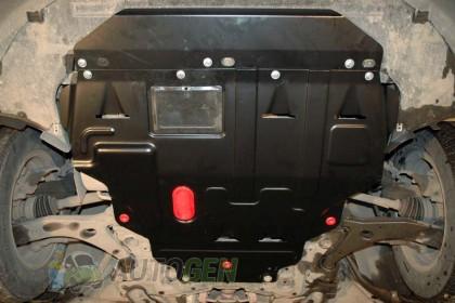 """Titanium Защита двигателя Chrysler Voyager 4 (2001-2007)   """"Titanium"""""""
