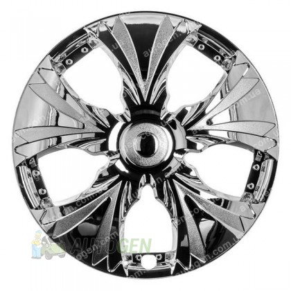 Колпаки на колеса Хром (T002) R14 (STR)