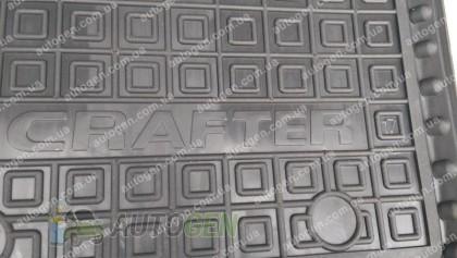 Avto-gumm Коврики салона Volkswagen Crafter (2016->) (водительский 1шт) (Avto-Gumm)