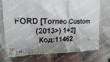 Avto-gumm Коврики салона Ford Custom (2012->) 1+2 (водительский 1шт) (Avto-Gumm)