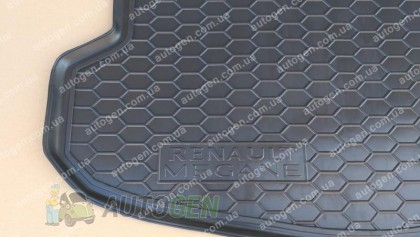 Avto-gumm Коврик в багажник Renault Megane 4 SD (седан) (2017->) (Avto-Gumm Полиуретан)
