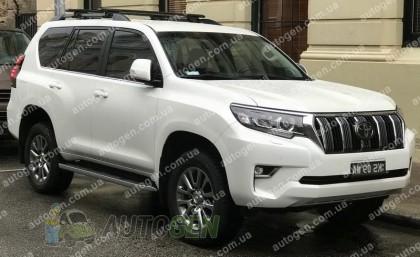 Avto-gumm Коврик в багажник Toyota Land Cruiser Prado 150 (5 мест) (2018->) (Avto-Gumm Полиуретан)
