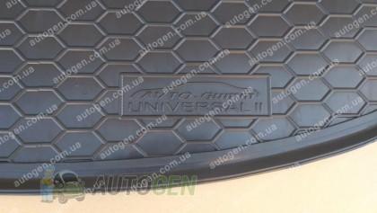 Avto-gumm Коврик в багажник Renault Megane 3 Grandtour (универсал) (Тип 2 с ушами) (2010-2015) (Avto-Gumm Полиуретан)