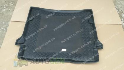 Коврик в багажник Citroen C4 Picasso (7 мест) (2006-2013) (Rezaw-Plast антискользящий)