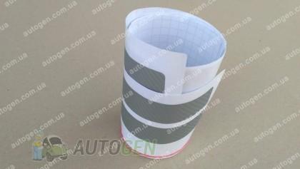NataNiko пленки Наклейки на пороги Mazda 3 (2013-2019) серый карбон NataNiko