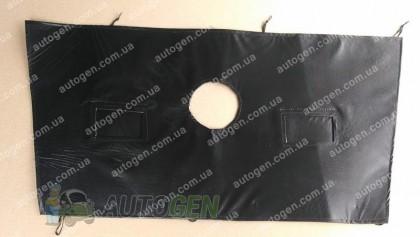 """F-Style """"теплитель решетки радиатора и бампера Fiat Doblo (2010-2015) (большой) м¤гкий черный"""