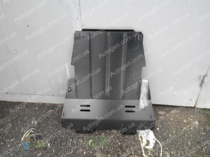 Защита двигателя  Renault Kangoo  (2009->) TITAN