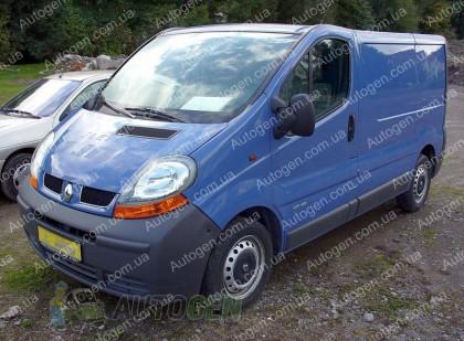 """Titanium Защита двигателя Renault Trafic 2 (2001-2014)     """"Titanium"""""""