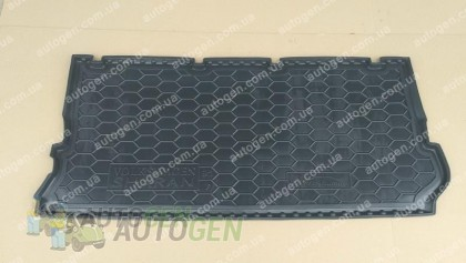 Avto-gumm Коврик в багажник Ford Galaxy (7 мест) (1995-2006) (Avto-Gumm полимер-пластик)