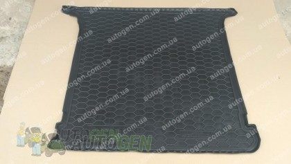 Коврик в багажник Seat Alhambra (5 мест) (1996-2010) (Avto-Gumm Полиуретан)