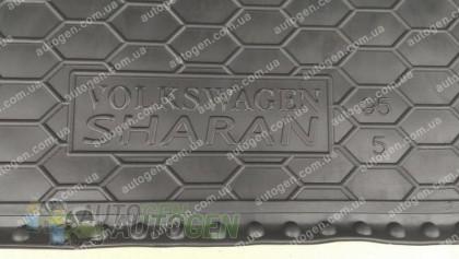 Avto-gumm Коврик в багажник Seat Alhambra (5 мест) (1996-2010) (Avto-Gumm Полиуретан)