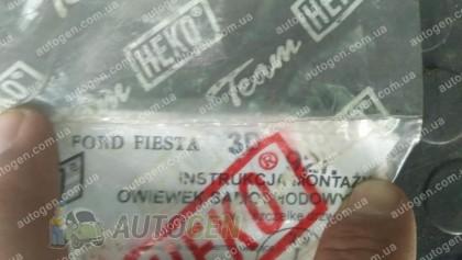 Heko Ветровики Ford Fiesta (1989-2002) (3 двери) (вставные) (Heko)