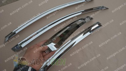 Auto clover Хром Ветровики Hyundai Elantra (2006-2011) KR Хром Распродажа!