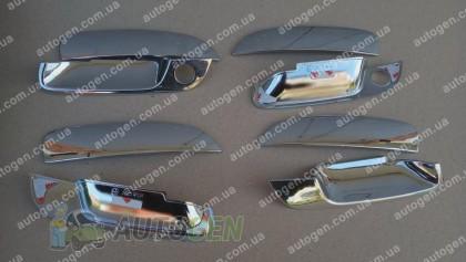 Auto clover Хром Накладки на ручки Hyundai Elantra (2000-2006) KR Хром