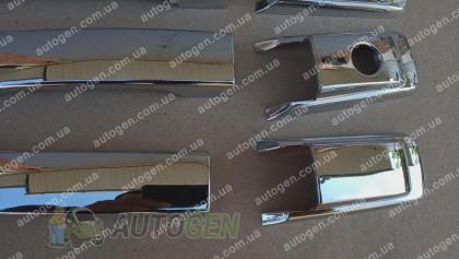 Auto clover Хром Накладки на ручки SsangYong Rexton (2001-2012) KR Хром