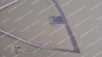 Auto clover Хром Накладки на фонари Chevrolet Aveo SD (2006-2011) KR Хром