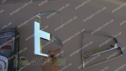 Auto clover Хром Накладки на фонари Kia Cerato (2004-2008) KR Хром