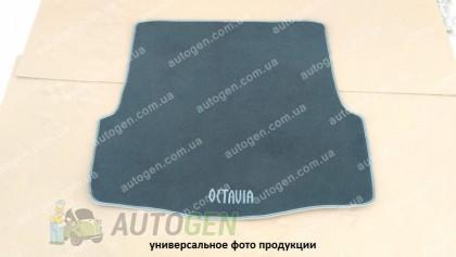 Vorsan Коврик в багажник Volvo S40 (2004-2012) (текстильный Серый) Vorsan