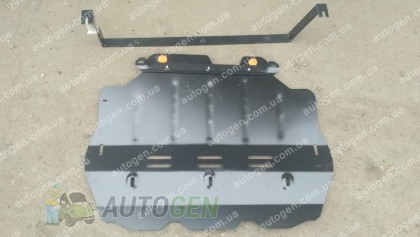 "Защита двигателя Volkswagen Caddy 3 ( Вебасто)   (2004->)    ""Titanium"""