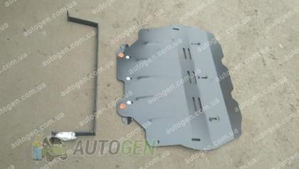 """Titanium Защита двигателя Volkswagen Caddy 3 ( Вебасто)   (2004->)    """"Titanium"""""""