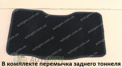 Vorsan Коврики салона Lancia Delta 3 (2008->) (текстильные Черные) Vorsan