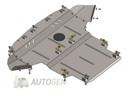 """Titanium Защита двигателя ВАЗ Kalina 1117 1118 1119  """"Titanium"""""""